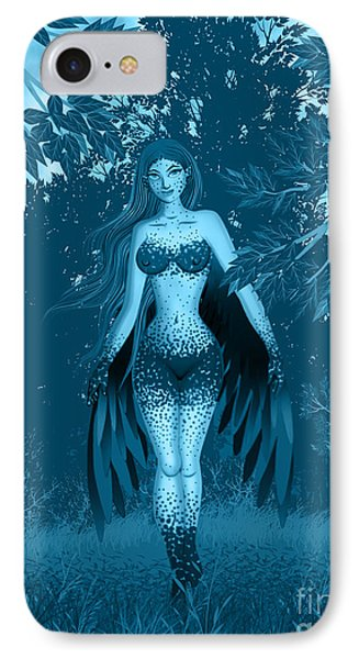 Fantasy Fairy Phone Case by Kriss Orayan