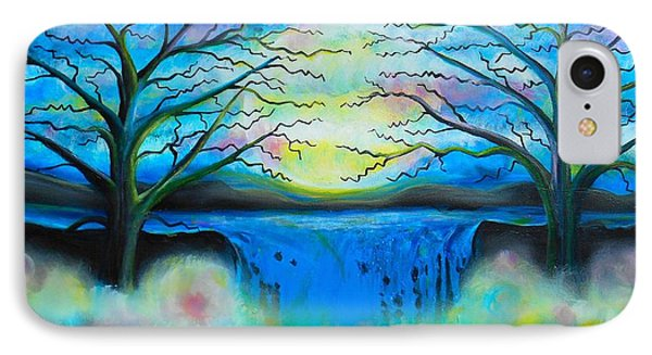 Fantasy Falls Phone Case by Shirley Smith
