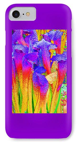 Fantasy Flowers Phone Case by Margaret Saheed