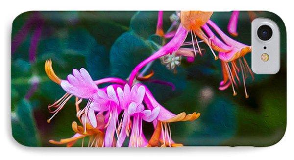Fantasy Flowers Phone Case by Omaste Witkowski