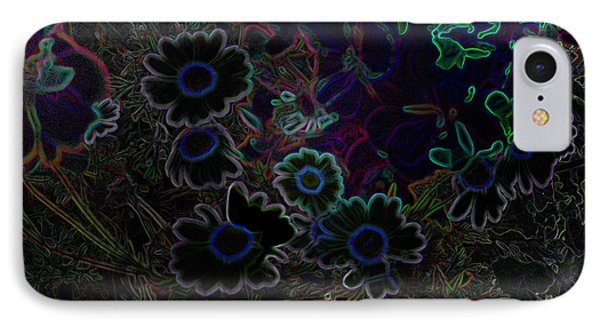 Fantasy Garden No. 3 At Night Phone Case by Cathy Peterson