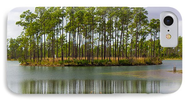 Fantasy Island In The Florida Everglades IPhone Case