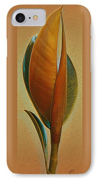 Fantasy Leaf Phone Case by Ben and Raisa Gertsberg