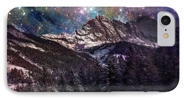 Fantasy Mountain Landscape IPhone Case by Martin Capek