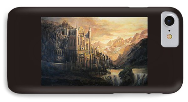 Fantasy Study Phone Case by Donna Tucker