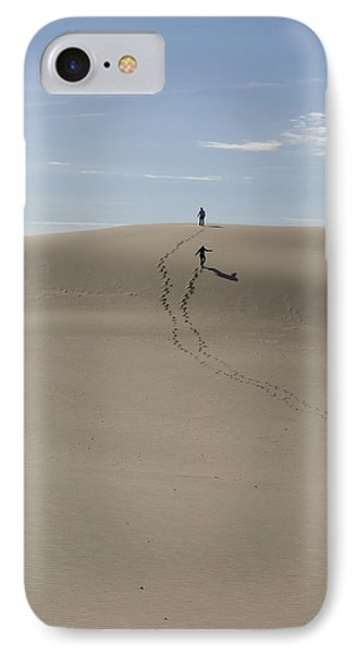 IPhone Case featuring the photograph Far Away In The Sand by Tara Lynn