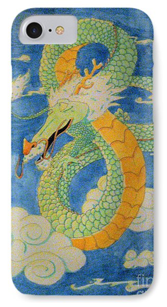 IPhone Case featuring the painting Far East Wind Rider by Wendy Coulson