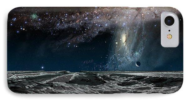 Far Future Earth Phone Case by Don Dixon