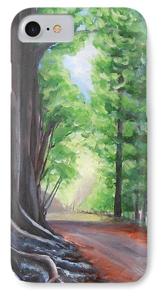 IPhone Case featuring the painting Faraway by Jane  See