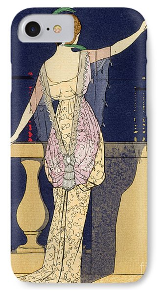 Farewell At Night IPhone Case by Georges Barbier