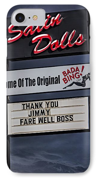 Farewell Boss IPhone Case by Susan Candelario