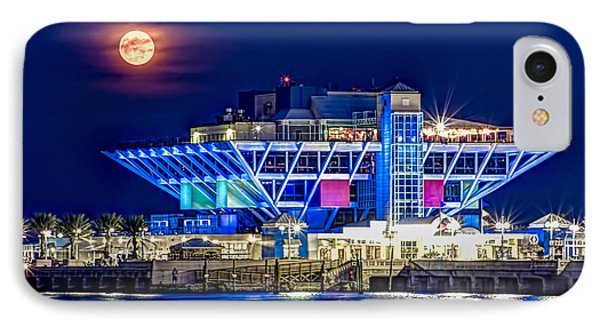 Farewell Moon IPhone Case by Marvin Spates