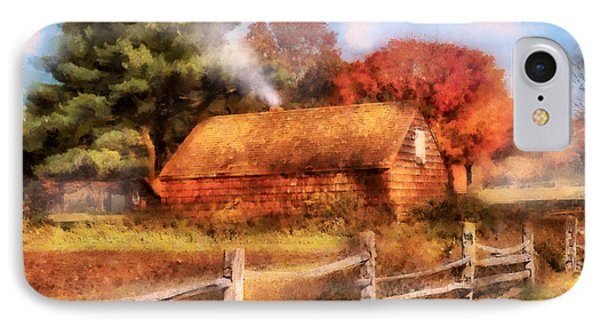 Farm - Barn - Our Cabin Phone Case by Mike Savad