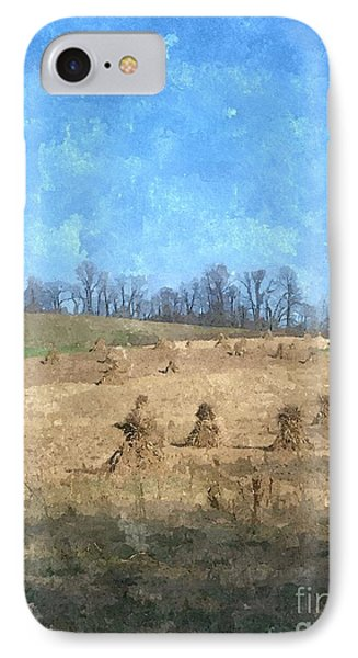 IPhone Case featuring the painting Farm Days 2 by Sara  Raber