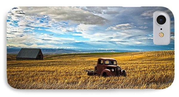 Farm Field Pickup Phone Case by Steve McKinzie