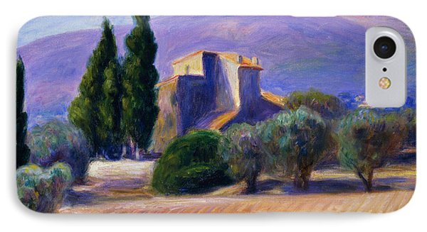 Farm House In Provence IPhone Case