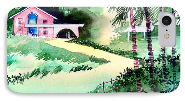 Farm House New Phone Case by Anil Nene