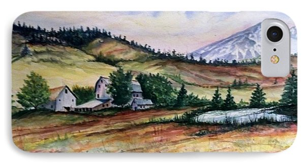 Farm In A Valley IPhone Case