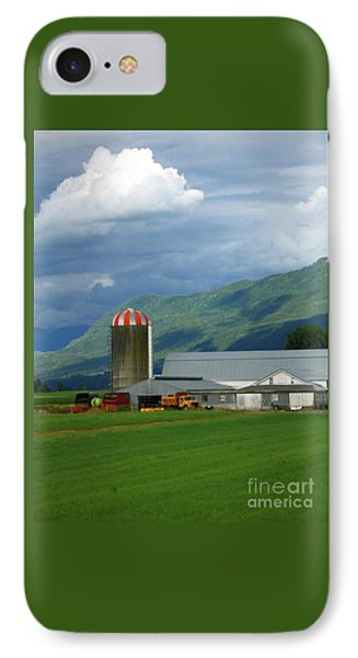 Farm In The Valley IPhone Case by Ann Horn