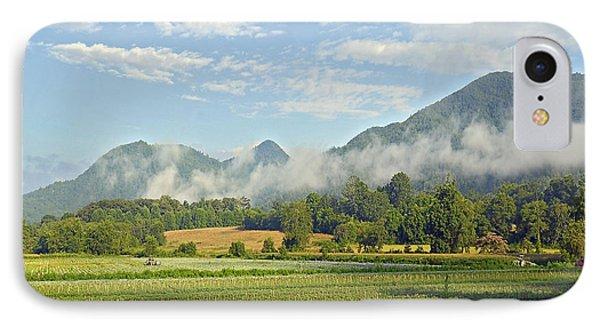 Farm In The Valley Phone Case by Susan Leggett