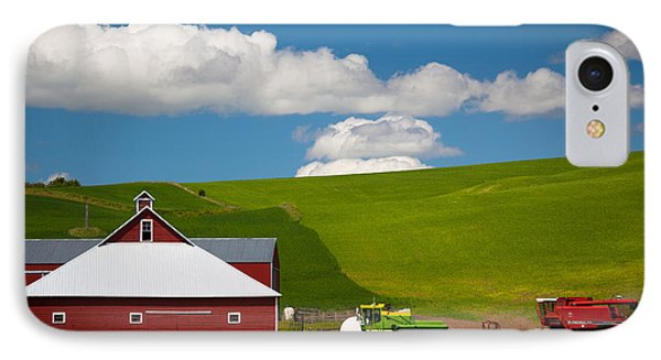 Farm Machinery Phone Case by Inge Johnsson