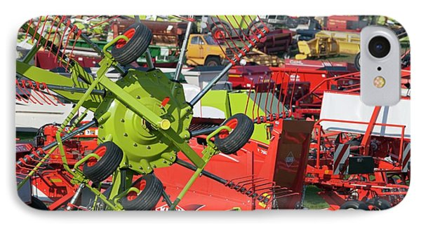 Farm Machinery IPhone Case by Jim West