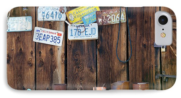 IPhone Case featuring the photograph Farm Shed Memories by Vinnie Oakes