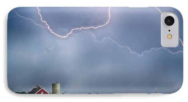 Farm Storm Hdr Phone Case by James BO  Insogna