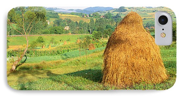Farm, Transylvania, Romania IPhone Case by Panoramic Images