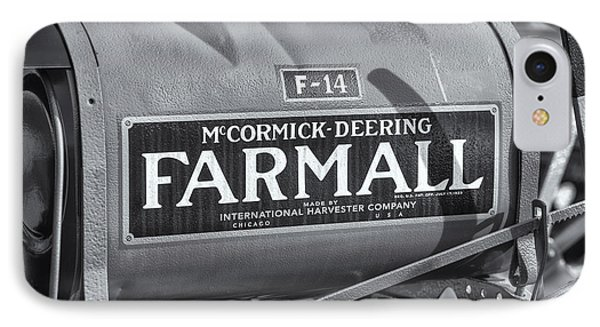 Farmall F-14 Tractor II Phone Case by Clarence Holmes