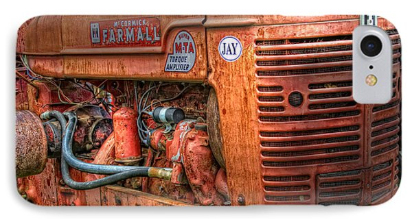 Farmall Tractor Phone Case by Bill Wakeley
