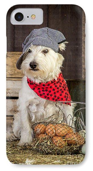 Farmer Dog IPhone Case