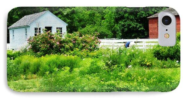 Farmer's Garden Phone Case by Susan Savad