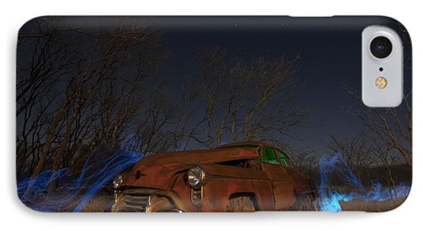 IPhone Case featuring the photograph Farmers Limo by Keith Kapple