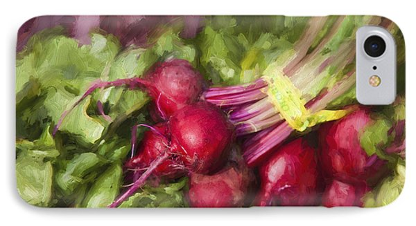 Farmers Market Beets IPhone Case by Carol Leigh