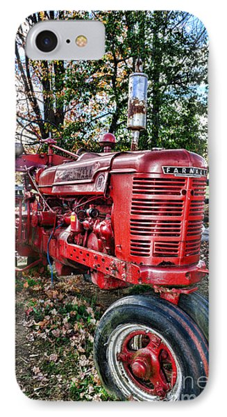 Farmers Tractor IPhone Case by Paul Ward