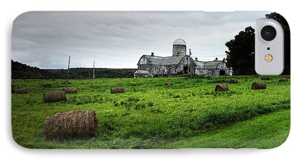 Farmhouse Bails Of Hay IPhone Case