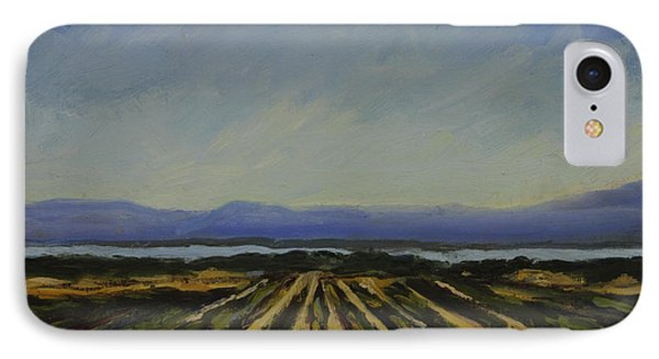 Farming By The Sea IPhone Case by Maria Hunt