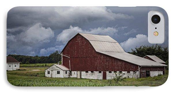 Farming IPhone Case by Debra and Dave Vanderlaan