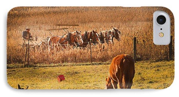 Farming  Modes Of Transportation Phone Case by Randall Branham
