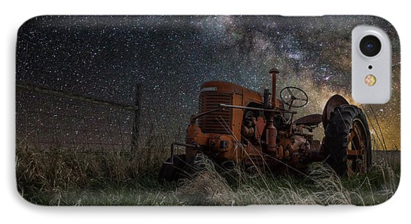 Farming The Rift IPhone Case by Aaron J Groen