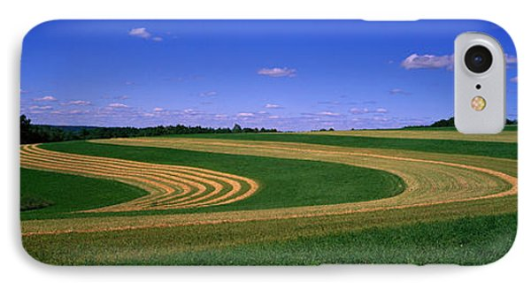 Farmland Il Usa IPhone Case by Panoramic Images