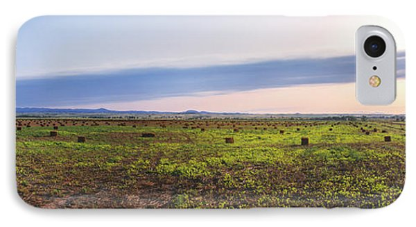 Farms At Sunset, Vale, Butte County IPhone Case
