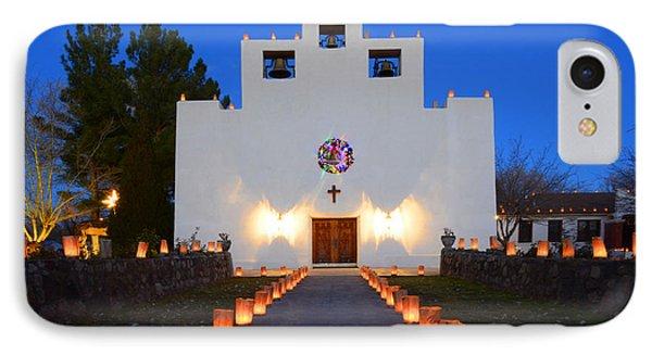 Farolitos Saint Francis De Paula Mission IPhone Case