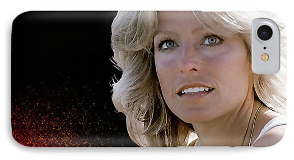 Farrah Fawcett  IPhone Case by Marvin Blaine
