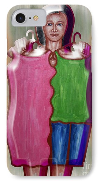 Fashion Dilemma Phone Case by Patrick J Murphy