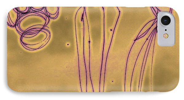 Fashion Graffiti In Purple Gold Phone Case by Cathy Peterson