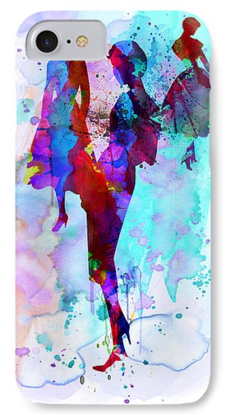 Fashion Models 7 IPhone Case by Naxart Studio