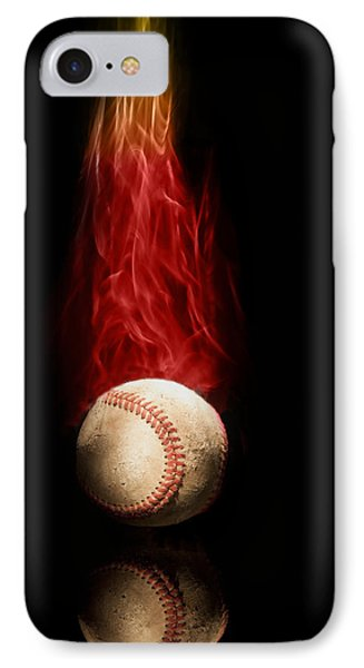 Fast Ball IPhone Case by Tom Mc Nemar