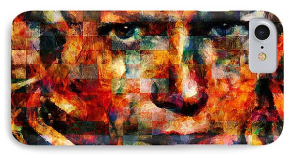 Fatal Attraction - Abstract Realism IPhone Case by Georgiana Romanovna